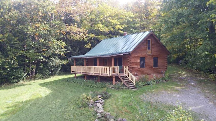 The Hazen's Notch Cabin