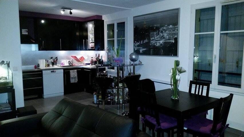 Duplex en plein coeur de ville - Vauréal - Apartment