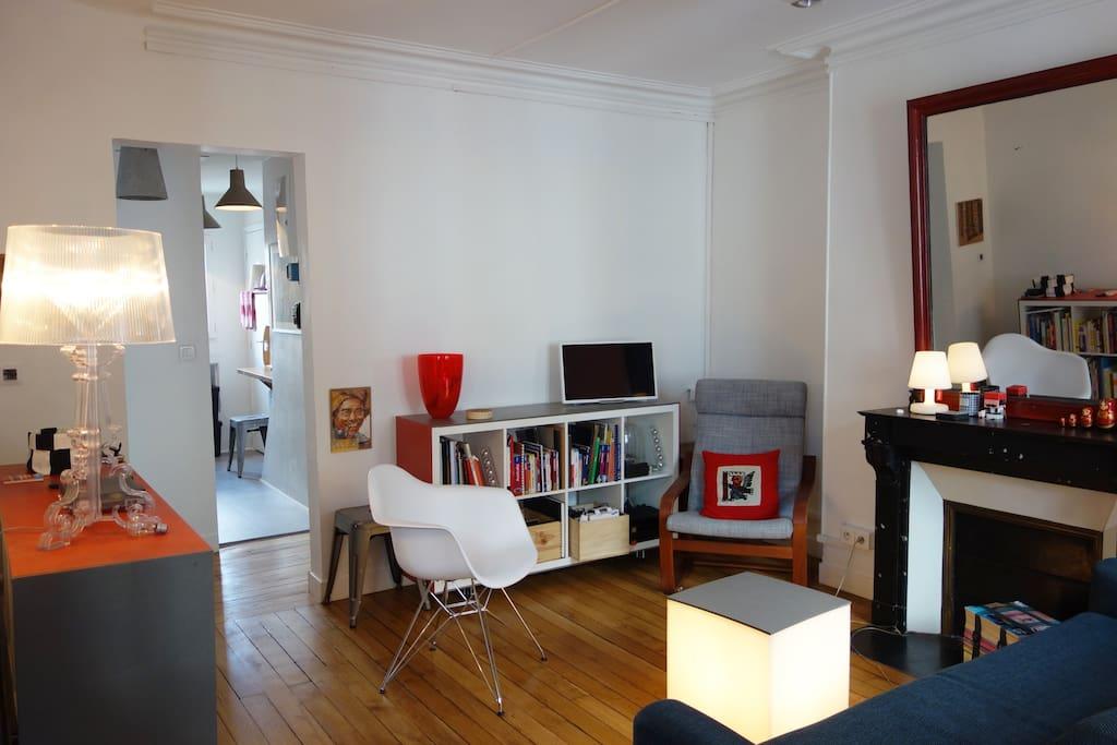 Pièce à vivre lumineuse - Sunny living room