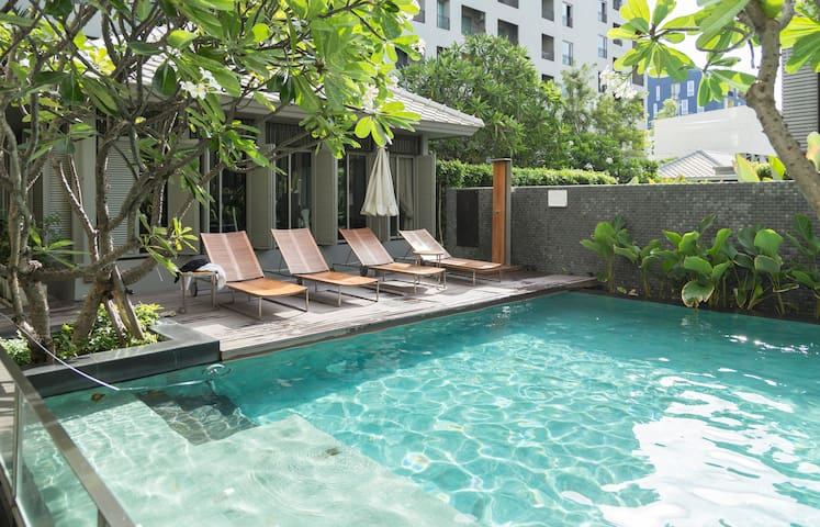 @Siam,Free Limo, BTS/WiFi/Pool/Gym. - Bangkok - Apartment