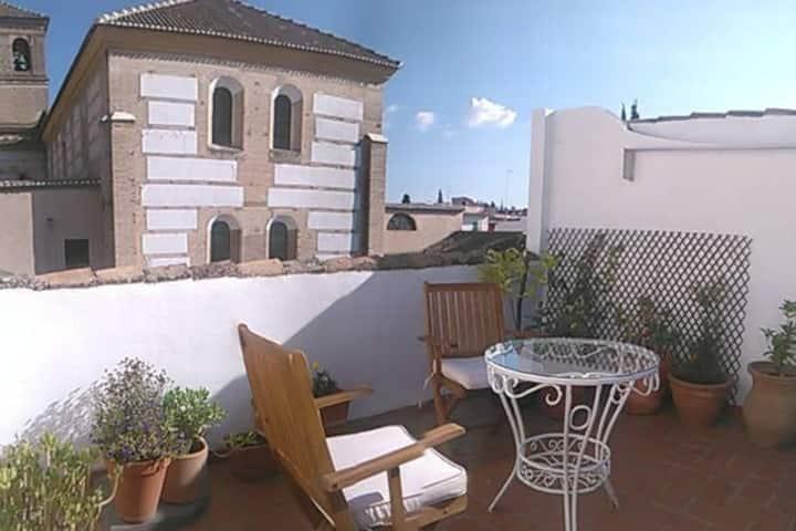 Rincon de Luz, Estudio con Terraza Privada Granada