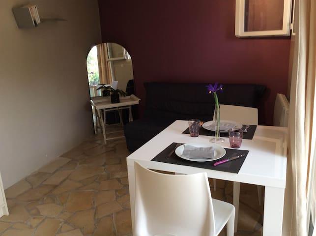 Loue T2 rez-de jardin 26m2 - Salon-de-Provence - Lägenhet