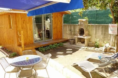 Petit rez de Jardin provençal - Solliès-Toucas