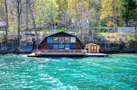Charming Cottage Diretamente no Lago Skaneateles