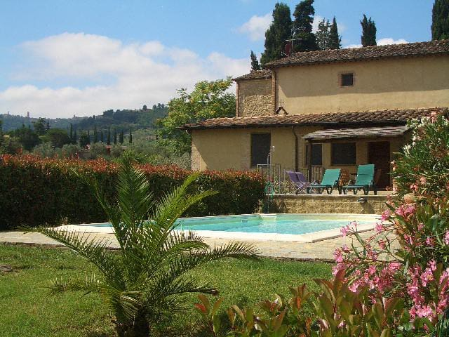 Tuscany apartment with private pool - Volterra - Casa de camp