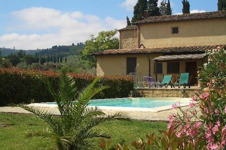 Tuscany apartment with private pool - Volterra