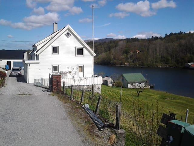 Flott enebolig ved sjøkanten - Skjold - House