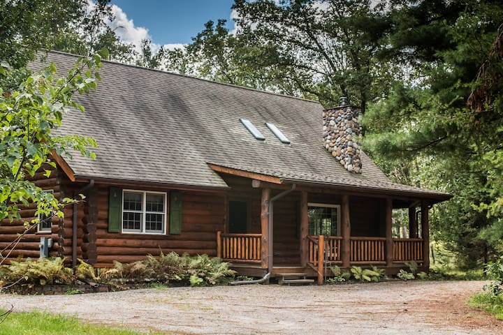 Lake Arrowhead Area Log Home
