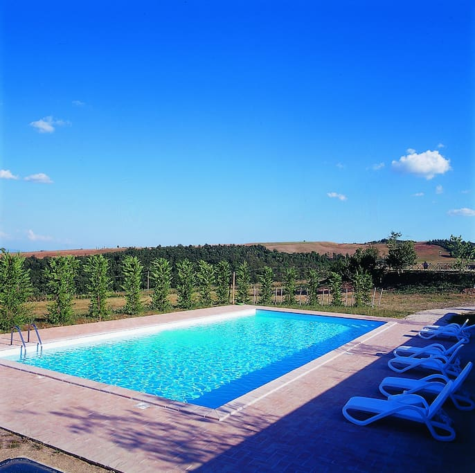 La piscina - The swimming pool