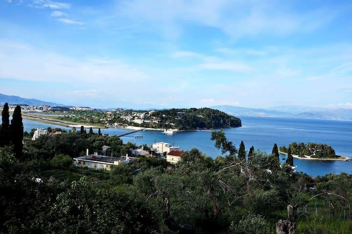 Batis Apartments in Perama Corfu. - Perama - Casa