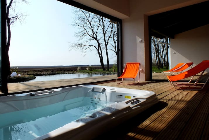 Luxury wellness house near Budapest