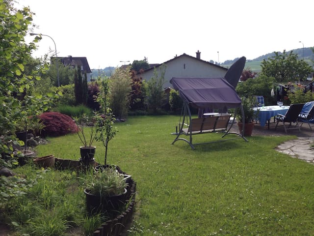 Room with Relax Garden - 8908 Hedingen - Casa