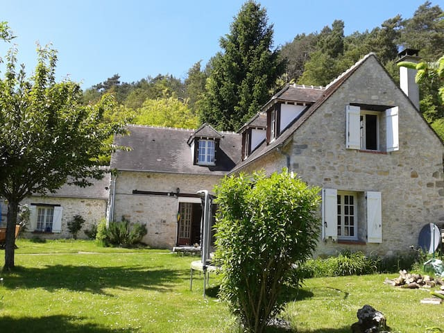 Une grande maison dans la forêt - Larchant - House
