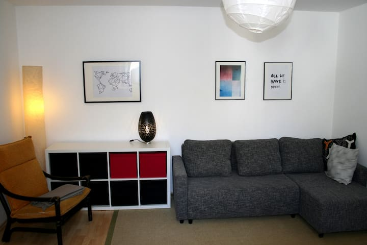 1 Zimmer Apartment Zentral nähe Hbf