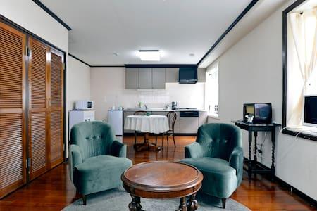 1LDK Roomy Apartment in central Naha