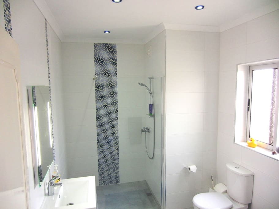 Brand new shared bathroom