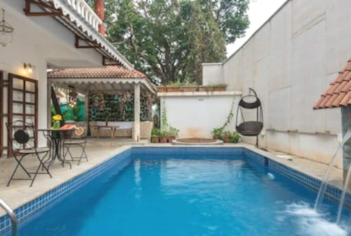 3BR Luxury Villa|Private pool|cook|wifi|kitchen