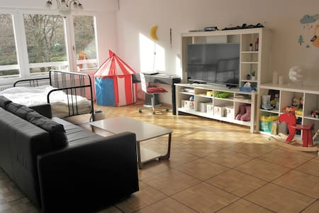 Cozy and Calm Studio with Garden and Playground - Genève