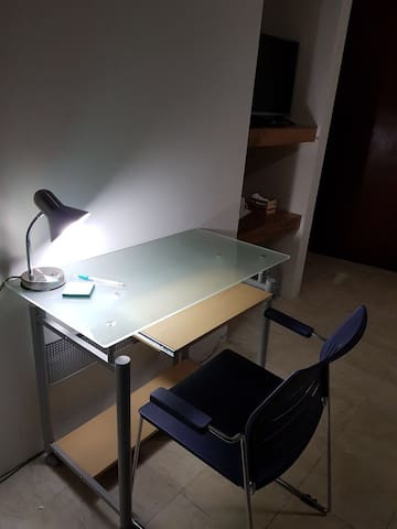 Zona residencial, sin ruido, para poder concentrarte y trabajar
