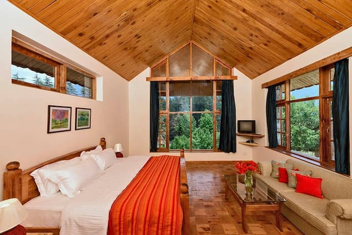 THE DUFFDUN HOUSE standard room Nº3 - Manali - Villa