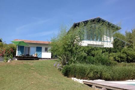 Chambres d'hôtes au vert, piscine - Arcangues