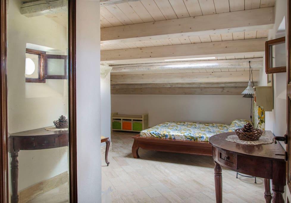 Palumma: camera da letto