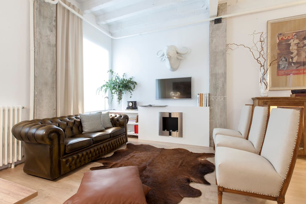 Madrid chic departamentos en alquiler en madrid for Hoteles chic en madrid