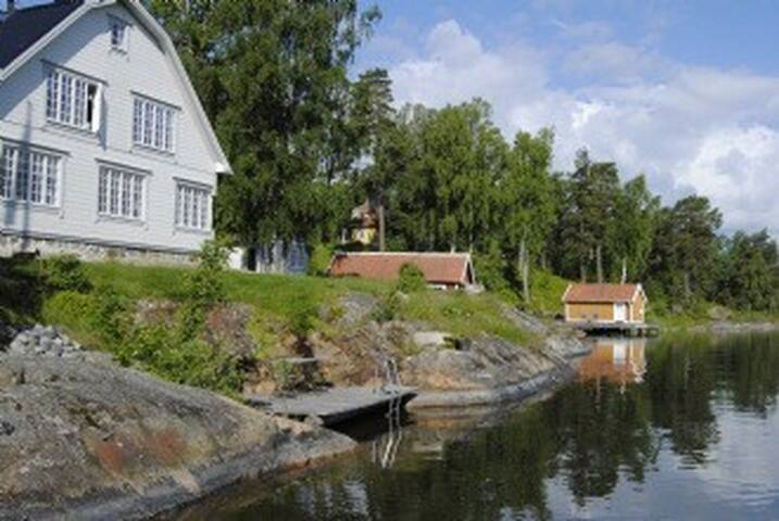 Lakeside plot in Stockholm Archipelago, Värmdö - Gustavsberg - Ev