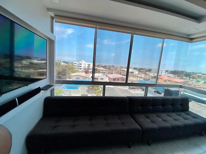 Modern apartment close to Salinas and Chipipe