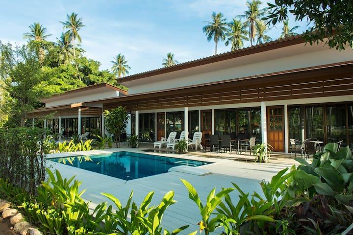 OC1: 2 bd. new house with pool - Ko Samui - House