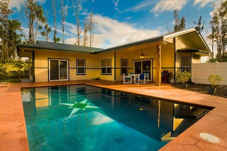 Affordable Luxury, private pool on Kaloli Point