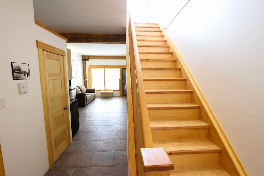 Bright two floor apartment unit 201 glube 39 s lofts for Two floor apartment