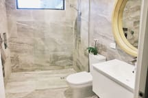 Master Ensuite with shower and toilet.