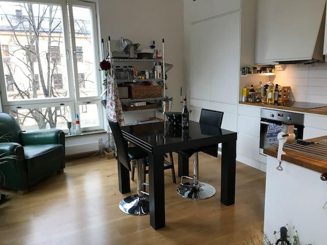 Fin lägenhet centralt på Södermalm