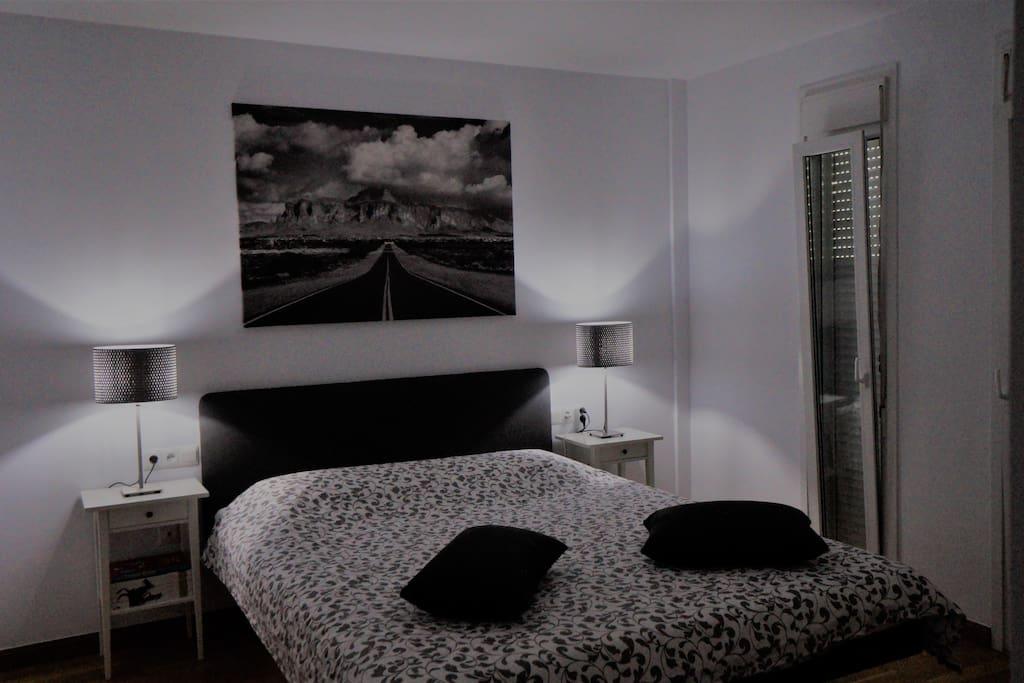 Masterchambre avec lit à eau stabilisé