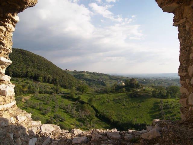 Incantevole borgo medievale - Poggio Catino - Rumah