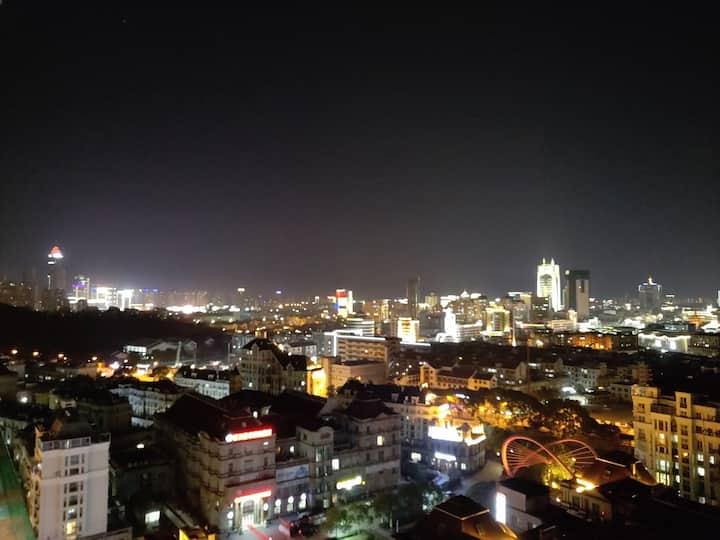可以俯瞰绍兴古城的环城河边高层住宅一室一厅