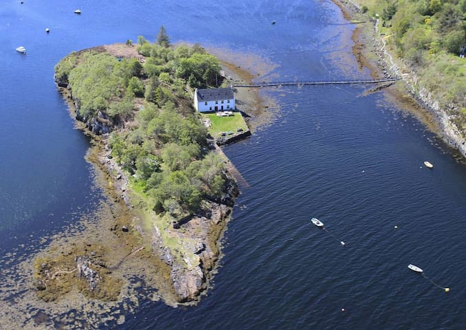 Scottish Highland Private Island - Badachro - Apartament