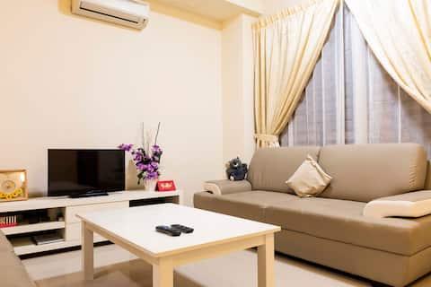 Balik Pulau 4 Bedrooms With Free Parking & BBQ Set