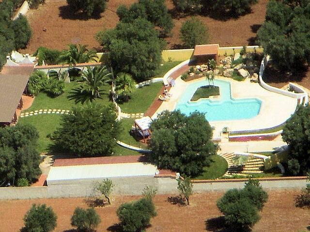Tenuta Placella - Villa Silvia with shared pool - Serranova - Villa