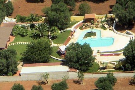 Con piscina e giardino incantevole. - Serranova