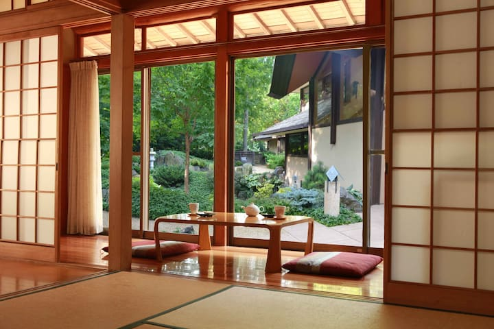 Trad/Mod Japanese Home with Onsen  - Beppu - House