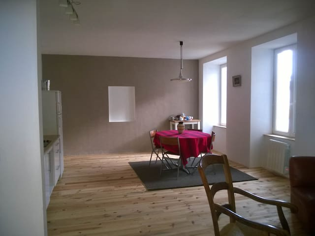 Grand appartement en Haute Loire