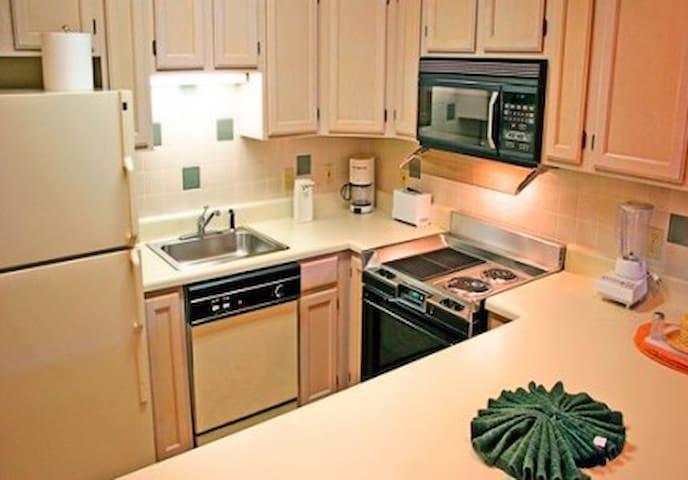 Sample kitchen.