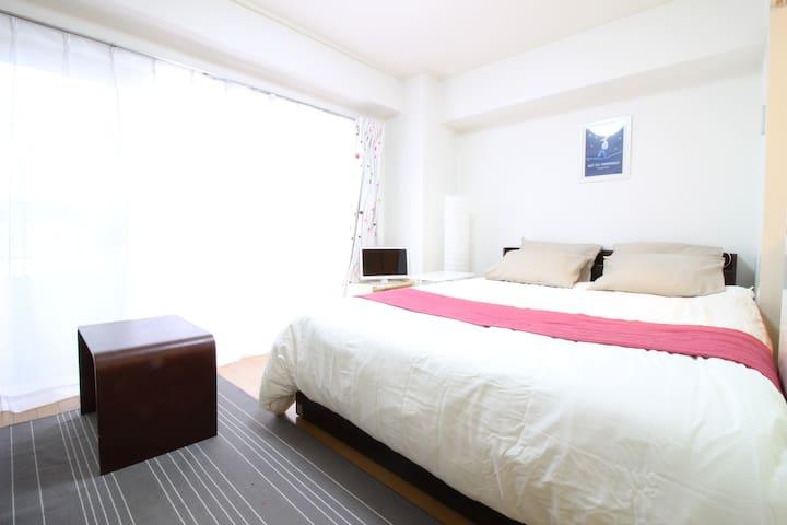 2 BEDROOMS & 1 DINING APT / 1MIN WALK STATION - Minato-ku - Departamento