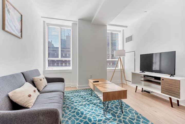 ☆ Stunning ☆ 1BR In Philly's City Center