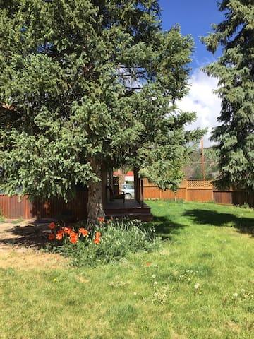 Sunny room near river trail - Durango - Hus
