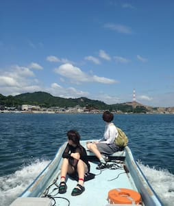 c1.Mukaejima away 100m from Naoshima - Naoshima - Dům pro hosty