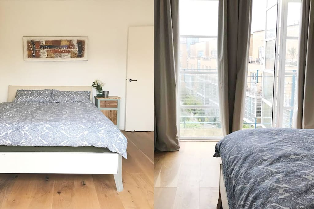 Double bedroom | Private access to the balcony