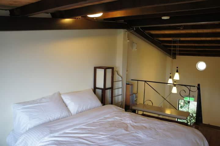 Walk Inn 3x3-Private SeaView HouseB